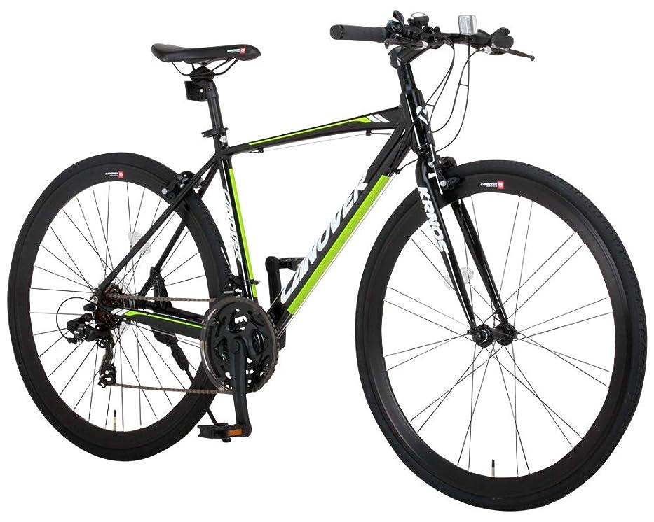 ええシャーリベラルCANOVER(カノーバー)  クロスバイク 700C シマノ21段変速 CAC-028(KRNOS) アルミフレーム フロントLEDライト付 [メーカー保証1年]