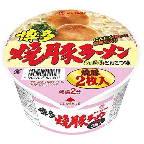 マルタイ 博多焼豚ラーメン 87g×12個
