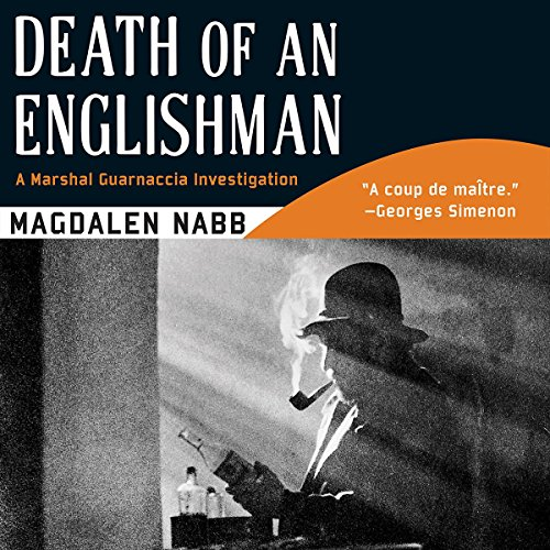 Death of an Englishman audiobook cover art