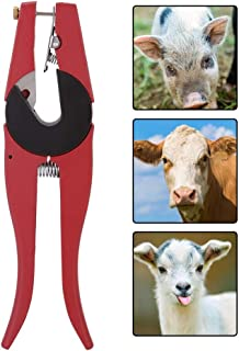 Ear Tag Applicator, Ear Tag Plier, Durable Aluminum Alloy for Sheep Goat Home