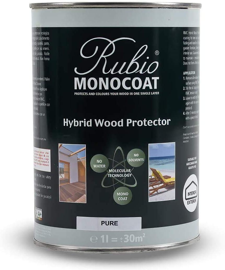 100 ML Rubio Monocoat Ranking TOP11 Exterior Color: Hybrid Protector Wood Pigl specialty shop