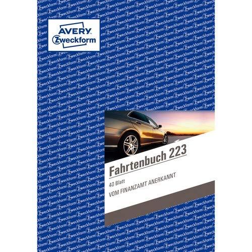 AVERY Zweckform Formularbuch ´Fahrtenbuch´, A5, 40 Blatt