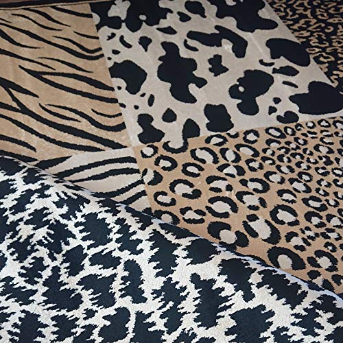 Stock Alfombra. Modelo Belga Animal Print 160 x 215.