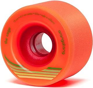 Orangatang Cage 73 mm Freeride Longboard Skateboard Wheels (Set of 4)