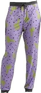 Cactus All Over Purple Sleep Lounge Jogger Pants