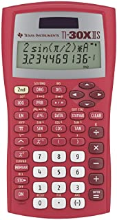 Texas Instruments TI-30XIIS Scientific Calculator, Red
