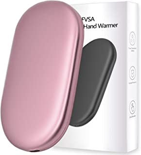 FVSA Rechargeable Hand Warmer, 10000mah Graphene Electric Hand Warmers Rechargeable, (13-18...