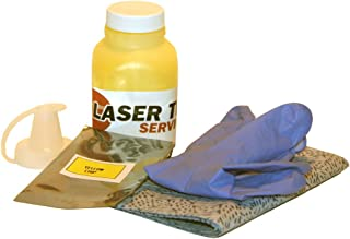 Laser Tek Services® Yellow Toner Refill with reset chip for Samsung CLP-300 CLP-300N CLX-2160N CLX-3160FN CLP-Y300A