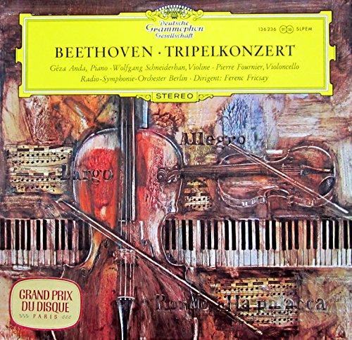 Beethoven: Tripelkonzert C-dur Op. 56 [Vinyl LP] [Schallplatte]