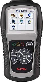 Autel MaxiLink ML519 (La Misma función Que AL519) OBD2 Herramienta de escaneo de diagnóstico para automóvil,Lector de código de Coche Modo OBD II Mejorado 6