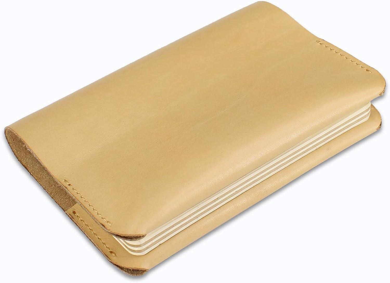 Notizbuch, A6, Leder, nachfüllbar, personalisierbar hellbraun hellbraun hellbraun B07KG3S19Q | Deutschland Store  | Discount  | Einfach zu bedienen  61de8c