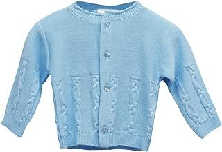 24 Mesi 3 BLUES BABY Cardigan Cardigan da Bambina con Bottoni Maglia a Cavallo