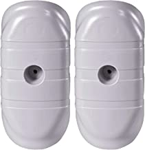 Electriduct Universal Plastic Hand Hole Security Cover for Light and Utility Poles - Pack of 2