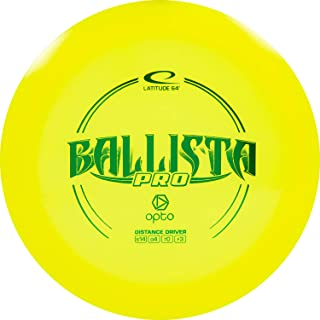 D·D DYNAMIC DISCS Latitude 64 Opto Ballista Pro Disc Golf Driver | Maximum Distance Frisbee Golf Driver | 170g Plus | Stam...