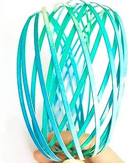 HongYu Ltd Flow Ring for Kids – Educational Kinetic 3D Spring Toys for Children – Multi Sensory Arm Spinner – Stainless Steel Magic Ring for Kids (Colorful Green)