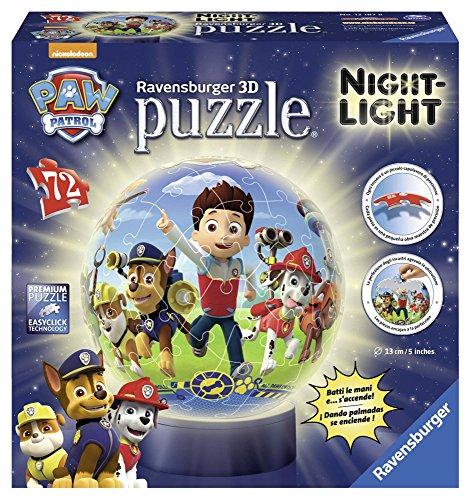 Puzzle Psi Patrol kuliste Lampka 72