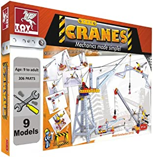 Toy Kraft - Cranes Construction Kit, Multi Color