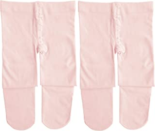 Dancina Ballet Dance Tights Footed - Ultra-soft Pro Excellent Hold&Stretch (Toddler/Girls/Women)