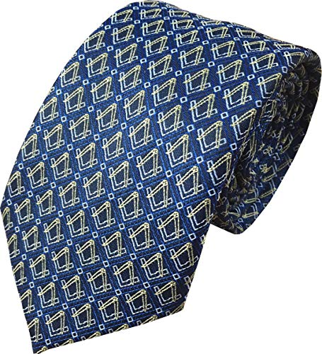 Freemasons Masons Masonic Woven Neck Tie from Great British Tie Club