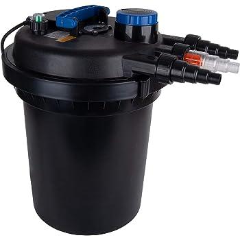 Polar Aurora 4000 Gallons Pond Pressure Bio Filter 13W Light 10000L Koi Water