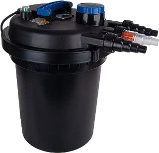 Polar Aurora 4000 Gallons Pond Pressure Bio Filter 13W UV Sterilizer 10000L Koi Water