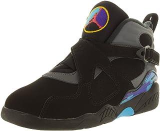 e4fac5b76d7774 Jordan Nike Air 8 Retro Aqua (PS) Boys  Basketball Shoes 305369-025