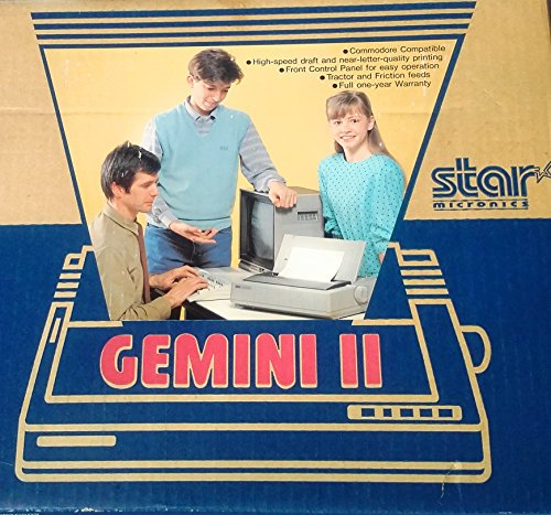Great Deal! Star Micronics Gemini II Dot Matrix Printer Compatible with Commodore Computers