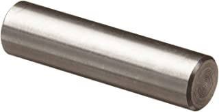 Plain Finish Pack of 10 24mm Length 316 Stainless Steel Dowel Pin Meets DIN 7 3mm Nominal Diameter Tolerance