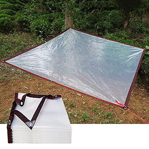 MDCG Paño Impermeable Transparente Lona alquitranada 180g/㎡ balcón Planta en Maceta Exterior Ocluir Impermeable A Prueba de Viento a Prueba de Polvo Mantener Caliente Lona alquitranada