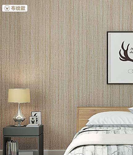 YLCJ Papier Peint Moderne Simple Granule Tissu Literie Écologique Solide Couleur Non-tissé Papier Peint Murale Murale Super Fresque Pour Le Salon Chambre Décor À La Maison Kaki