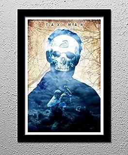 True Detective - Rust Cohle - Tax Man - Original Minimalist Art Poster Print