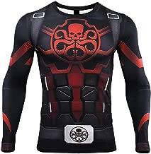 HIMIC E77C 3D Super Hero Close-Fitting Quick-Drying Elastic Sport Cosplay T-Shirt