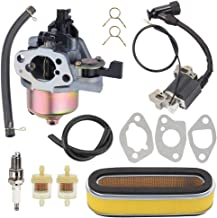 Trustsheer GXV160 GXV120 Carburetor w Tune Up Kit Air Filter for Honda HR194 HR195 HR214 HRA214 HR215 HR216 HRA216 HRC216 Lawn Mower GXV140 Motor Engine Carb 16100-ZE6-W01