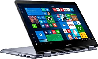 """Samsung Notebook 7 Spin 13.3"""" 2-in-1 1TB SSD Extreme (Fast 8th gen Intel Core Processor with Turbo Boost to 3.40GHz, 8 GB RAM, 1 TB SSD, 13.3"""" Touchscreen, Win 10) PC Laptop Computer NP730QAA"""