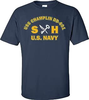 USS Champlin DD-601 Rate SH Ship's Serviceman