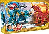 Kanaï Kids - KKBC35001 - Bloco - Dragons - Aqua & Pyro Dragons