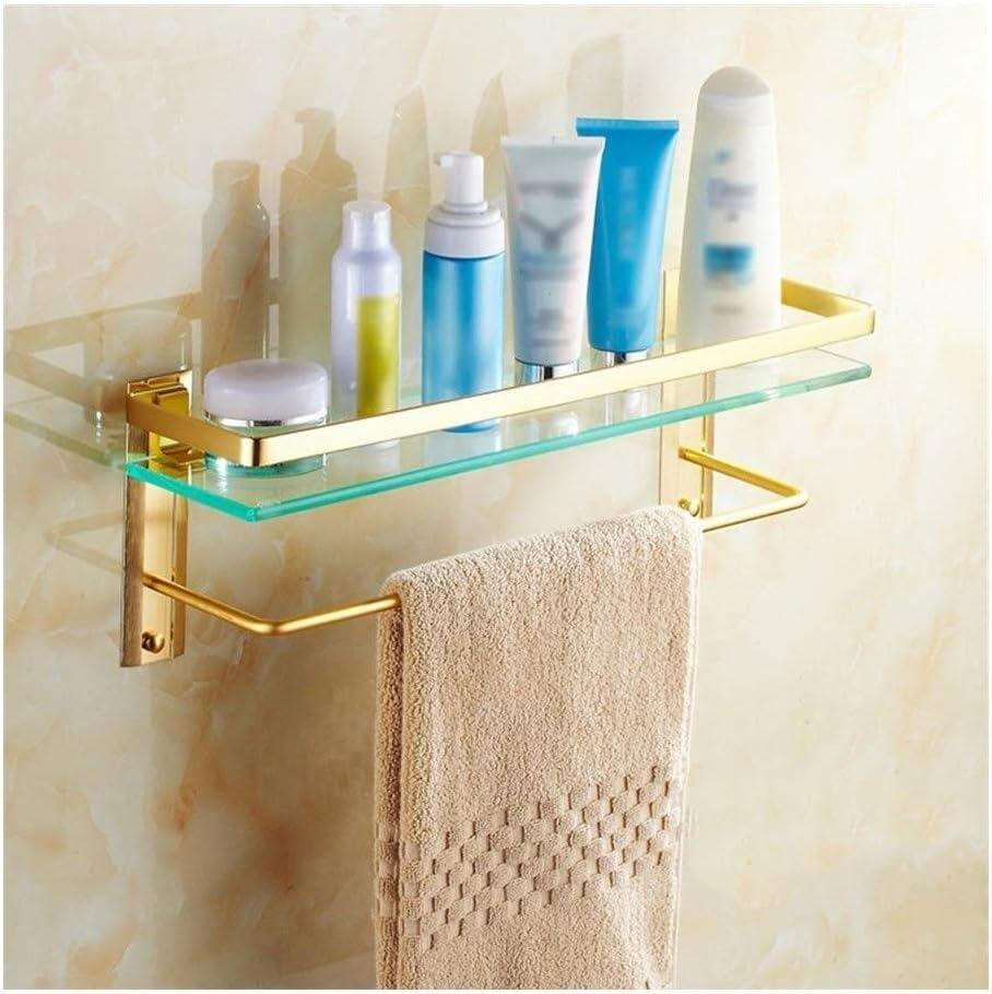 AINIYF Bathroom Shelf Towel Rail with , Ranking TOP5 Double Temp Colorado Springs Mall