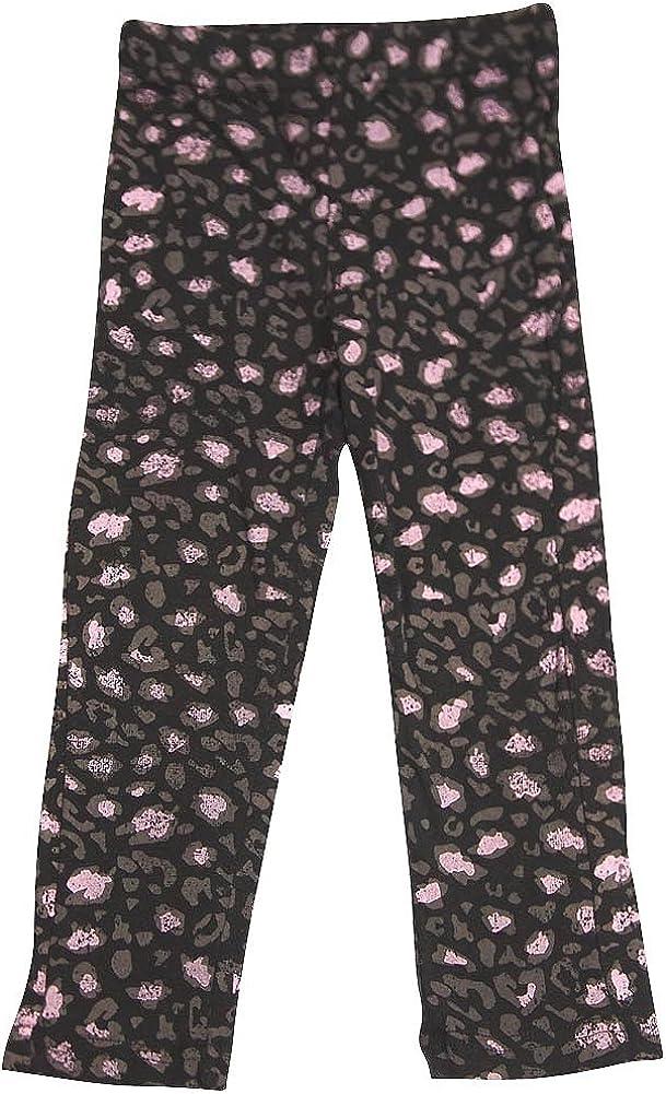Wild Mango - Little Girls' Punk Princess Printed Legging, Black 32137-4