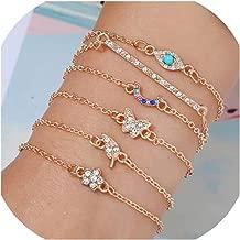 Zutty Bohemian Handmade Weave Heart Long Tassel Bracelet Sets Women 2019 New Grey Rope Chain Bracelets Jewelry