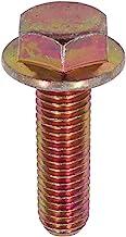 U-Turn - M10-1.50 x 35 mm Hex Flange Bolt Din 6921 10.9 Zinc Yellow (10 Pack)