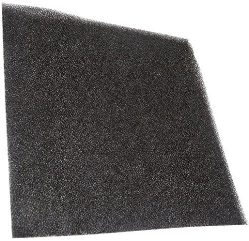 AERZETIX: 10x Filtre de Rechange C15171 45ppi pour Grille de Protection C15121 120x120mm Ventilation Ventilateur boîtier Ordinateur pc