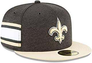 New Era New Orleans Saints NFL Sideline 18 Home On Field Cap 59fifty Fitted OTC