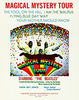 The Beatles Magical Mystery Tour advertisement Replica11 X 14