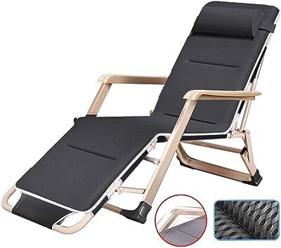 Amazon.com: AFEO-silla reclinable plegable portátil de viaje ...