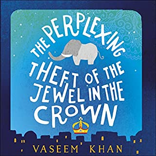 The Perplexing Theft of the Jewel in the Crown cover art