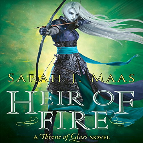 Heir of Fire audiobook cover art