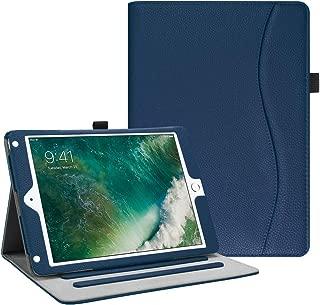 Fintie iPad 9.7 2018 2017 / iPad Air 2 / iPad Air Case - [Corner Protection] Multi-Angle Viewing Folio Cover w/Pocket, Auto Wake/Sleep for Apple iPad 6th / 5th Gen, iPad Air 1/2, Navy
