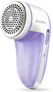 Ruidla Fabric Shaver Defuzzer, Electric Lint Remover, Rechargeable Sweater Shaver with..