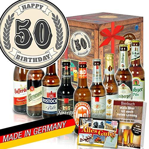 50. Geburtstag - bester Freund Geschenk - Biersorten Ostdeutsch