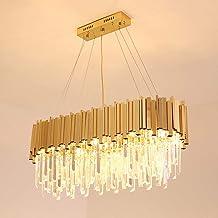 Modern Crystal Chandelier Luxury Light Color Bedroom Model Golden Crystal Chandelier Crystal Led Lighting Led Light Led